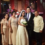 Wedding of Brother John and Sister April at Hardrock Cafe Makati